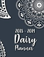 2018-2019 Daily Planner: Daily Planner and Reminder, 8.5x11 Sized, 108 Pages