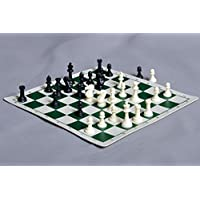 Miniature Chess Set Combination by