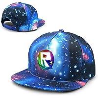 XUXUEYING Roblox Adjustable Baseball Cap Hip-Hop Unisex Snapback Hat Outdoor Bike Sun Cap
