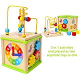 Wooden Activity Centre and Bead Maze