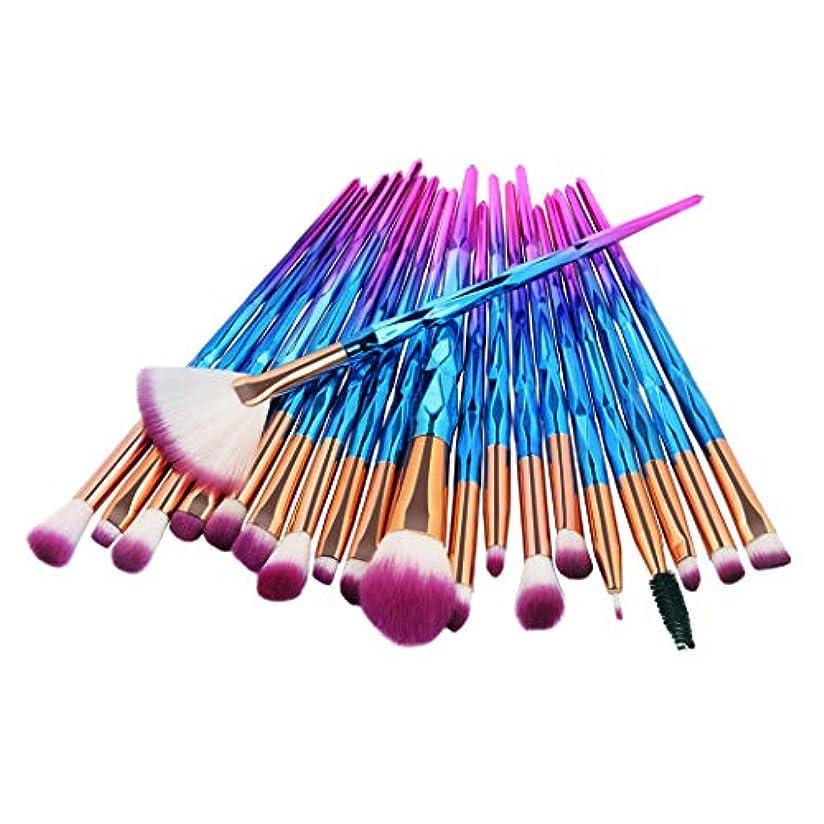 メイクアップブラシセット, 10本セット筆 化粧アイシャドウブラシコスメチックビューティーツール化粧ブラシメイクブラシ (C)