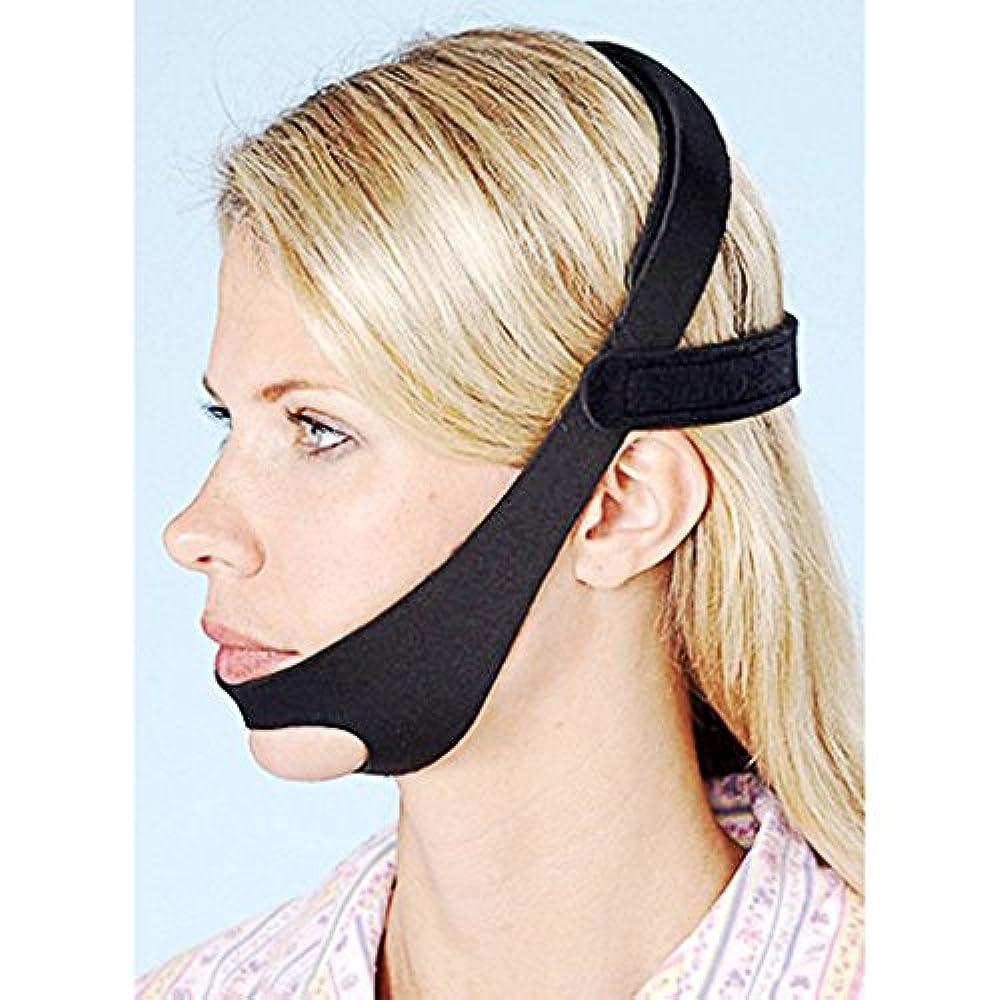 予防接種するビュッフェ繊毛DH 2018新しくいびき予防|調整可能なアンチSnoringチンストラップは、男性と女性のためにいびきのいびきSnore Relief Jaw Support Stop Snoring Solution DAHAN