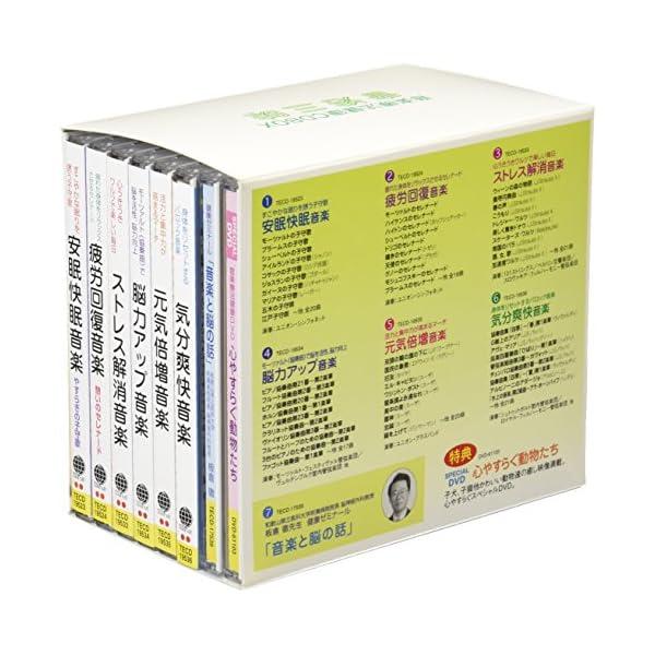 音楽療法健康CDBOX「音浴三昧」(DVD付)の紹介画像2