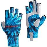 Bassdash ALTIMATE Sun Protection Fingerless Fishing Gloves UPF 50+ Men's Women's UV Gloves for Kayaking Paddling Hiking Cycling Driving Shooting Training