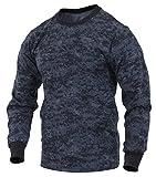 ロスコ カモ ロングスリーブTシャツ (L, ミッドナイトデジタルカモ(MDC))