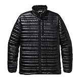 パタゴニア ジャケット Patagonia Ultralight Down Jacket - Men's Black, L [並行輸入品]