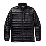 Patagonia ジャケット Patagonia Ultralight Down Jacket - Men's Black, L [並行輸入品]