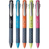 トンボ鉛筆 3色ボールペンリポータースマート0.5 5色セット