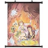 Angeliqueアニメファブリック壁スクロールポスター( 32x 41)インチ。[ WP ] angeliq-18( L )