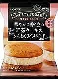 ロッテSWEETS SQUARE 華やかに香り立つ紅茶ケーキのふんわりアイスサンド60ml×24袋