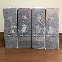進撃の巨人 figma 4種セット エレン ミカサ アルミン リヴァイ マックスファクトリー フィギュア