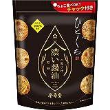 金吾堂製菓 おすきなひとくち濃い醤油煎餅二度づけ100g×12袋