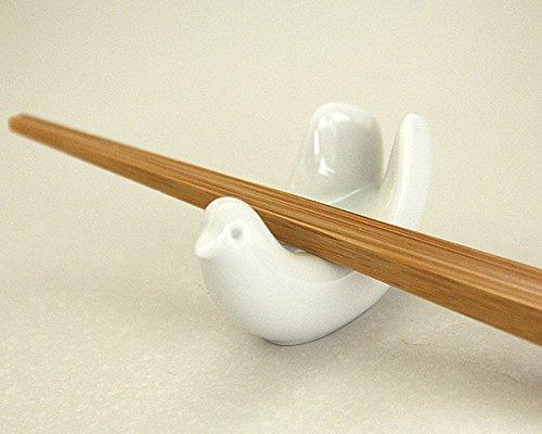 食卓のかわいらしいアクセントに 白山陶器(はくさんとうき)とり型はしおき(1個)