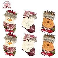 Ki StoreクリスマスストッキングホルダークラシックXmas GoodyギフトバッグHanging Decorations装飾品装飾