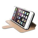 ahha 日本正規品 iPhone6 Plus 5.5 inch Dual Face Flip Case SYKES BASIC, Champagne Gold/Space Grey リバーシブル 右開き/左開き 両対応 スタンド機能 つき 手帳型 ブックタイプ デュアル フェイス フリップ ケース A-FPIH655-DSCG