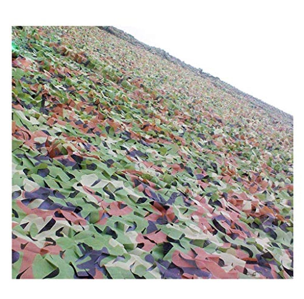ワックスチェリー緯度遮光ネット迷彩ネット 迷彩ネットアウトドアカモフラージュネットオックスフォード布サンカモフラージュネット、迷彩狩猟キャンプ用に使用できるバイザーパーソナリティ装飾を隠す 屋外の日陰の庭に適しています (Color : D, Size : 10*10m)