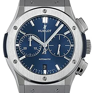ウブロ HUBLOT クラシックフュ-ジョン クロノグラフ チタニウム ブル- 521.NX.7170.LR 新品 腕時計 メンズ [並行輸入品]