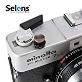Selens ソフトレリーズシャッターボタン メタル製 24色 凹タイプ 赤銅色