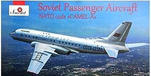 TUPOLEV TU-104 A2 SOVIET AIRLINER 1/144 AMODEL 1469 by AMODEL [並行輸入品]