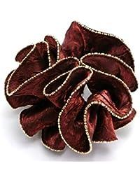 リトルムーン シュシュ サルート ヘッドアクセ ヘアアクセサリー 髪飾り 6 オーロラブラウン