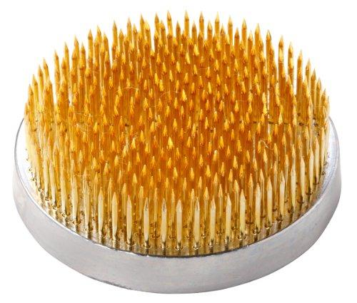 [해외]하나카쯔 켄잔 화초 용 極密 厚台 직경 40mm 황동 621/Hanakatu Kenzai grass flower extreme thick plate diameter 40 mm brass 621
