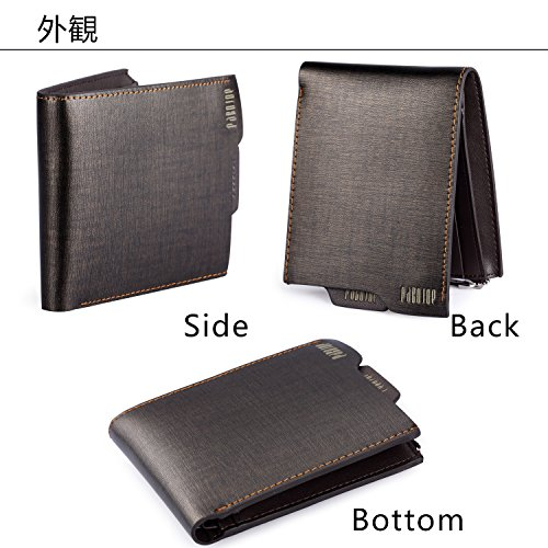 [パボジョエ]Pabojoe 財布 二つ折り メンズ 本革 人気 ブランド