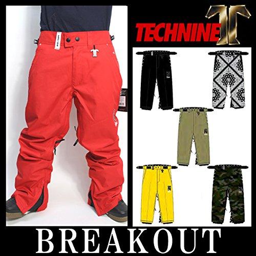14-15 TECHNINE T9 / テックナイン CHINO PANT メンズ ウェア パンツ スノーボード L RED