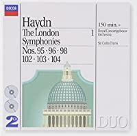 Haydn: The London Symphonies, Vol. 1 - Nos. 95, 96, 98, 102, 103, 104 (1994-10-11)