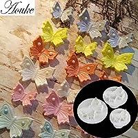 1 Set Big Size Butterfly Shape Plastic Cookie Cutter Cake Mold,Fondant Bakware DIY