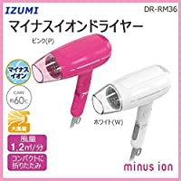 IZUMI マイナスイオンドライヤー ホワイト DR-RM36-W