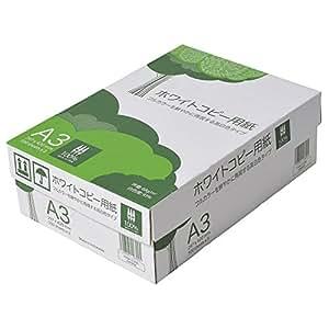 コピー用紙 高白色 A3 500枚x3冊/箱 ホワイトコピー用紙