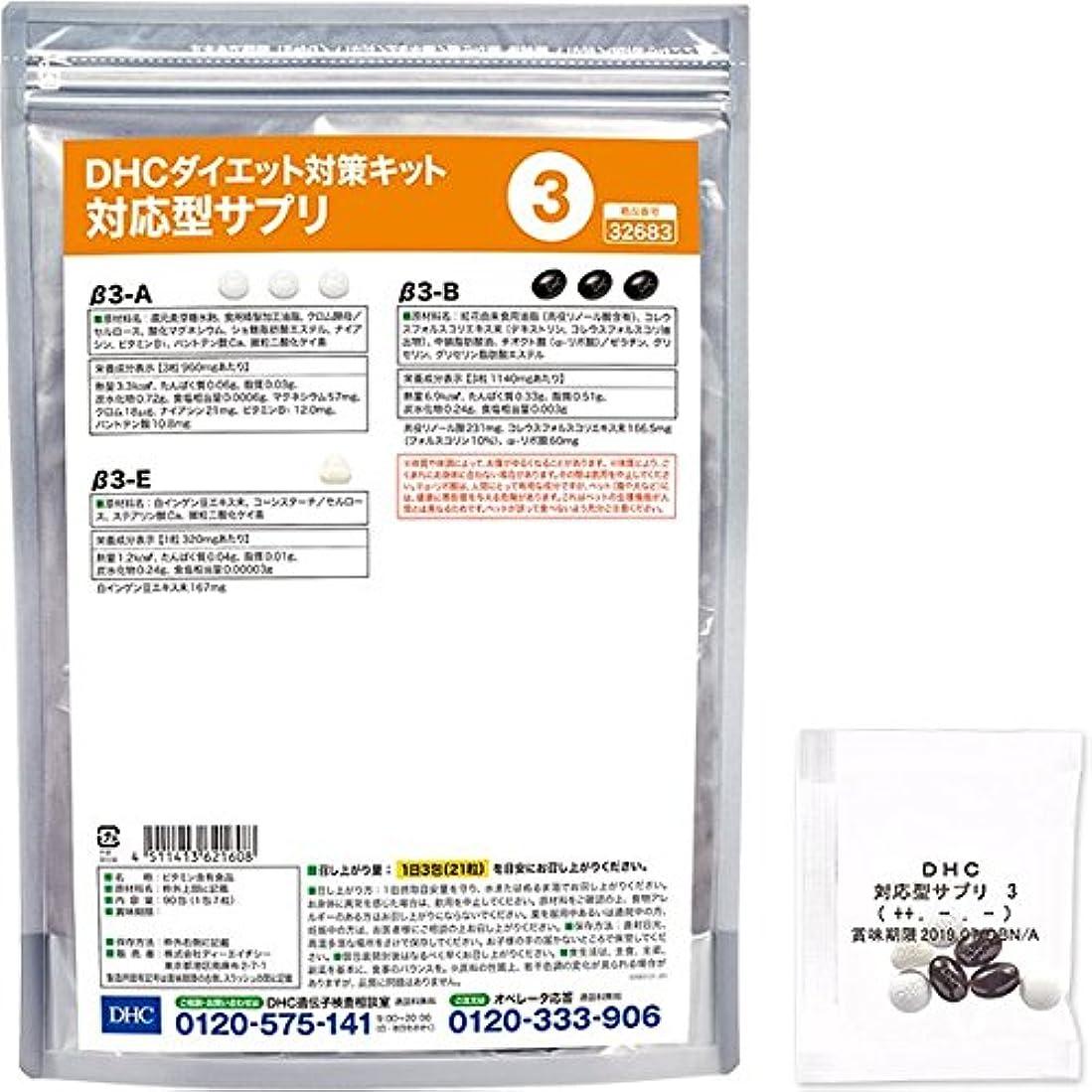 無関心ビヨン日光DHCダイエット対策キット対応型サプリ3