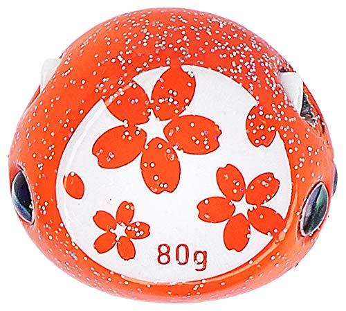 ダイワ(DAIWA) メタルジグ 紅牙 ベイラバーフリー ヘッド α 80g ボタニカルオレンジ