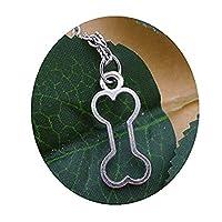犬の骨のネックレス、犬の骨の宝石、ペットのネックレス、ペットの宝石、犬の恋人のギフト