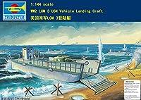 トランペッター 1/144 AFV 米海軍 上陸用舟艇 LCM-3