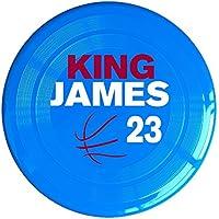 ARIアリペット用品 王者 ジェームズ バスケットボール ペット 犬 ドッグディスク グッズ おしゃれ フリスビー 遊び用 おもちゃ Yellow