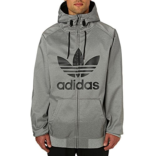 (アディダス) Adidas Originals メンズ スキー・スノーボード アウター Greeley Softshell Snow Jacket [並...