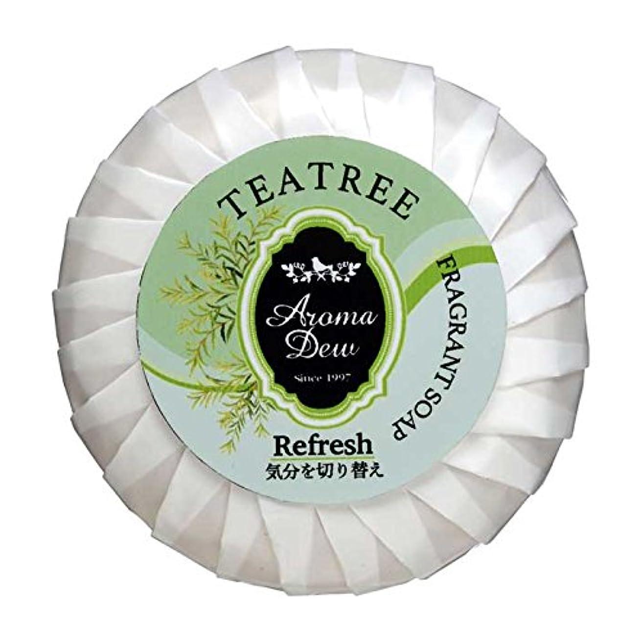 シャベルパラダイス確保するアロマデュウ フレグラントソープ ティーツリーの香り 100g