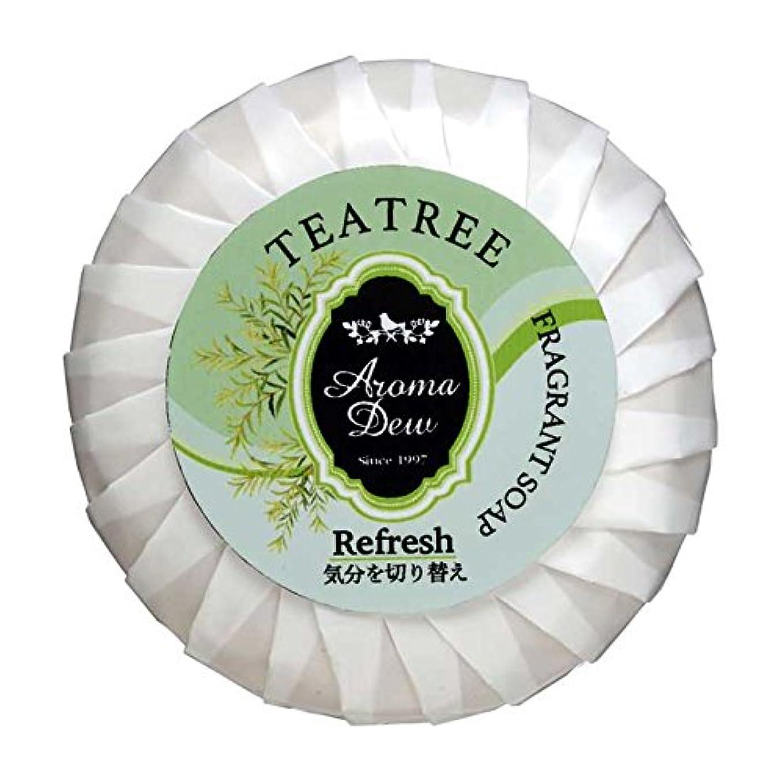 冬おもてなし粘り強いアロマデュウ フレグラントソープ ティーツリーの香り 100g