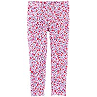 OshKosh B'Gosh Baby Girls Floral French Terry Jeggings