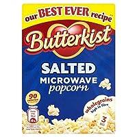 (Butterkist) 電子レンジ用ポップコーン塩210グラム (x2) - Butterkist Microwave Popcorn Salt 210g (Pack of 2) [並行輸入品]