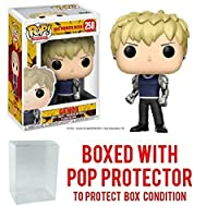 Funko Pop Anime: One Punch Man - Genos Vinyl Figure (Bundled with Pop BOX PROTECTOR CASE)