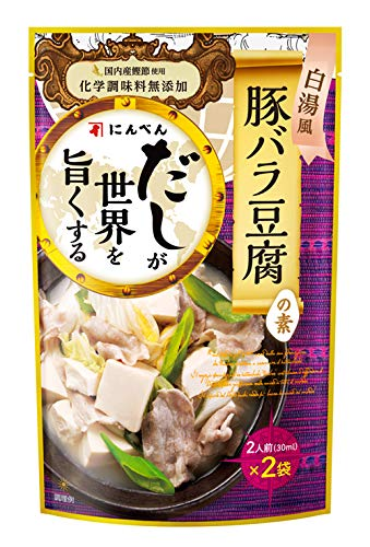 にんべん 豚バラ豆腐の素 60ml ×5個