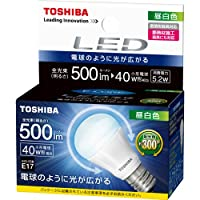 東芝E-CORE(ミニクリプトン形広配光300度) LDA5N-G-E17/S