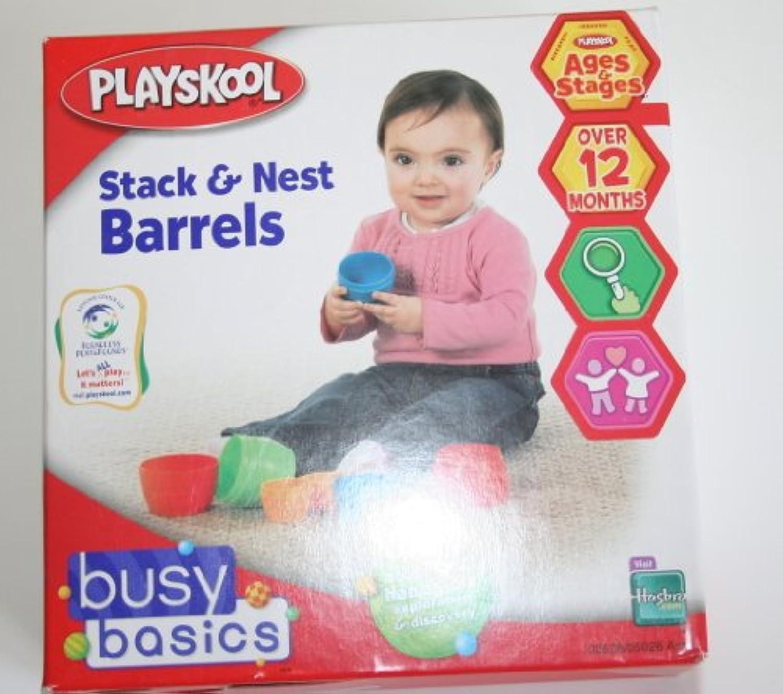 Playskool Stack and Nest Barrels
