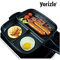 yorizle Square Brunchパントリプルパン分割パーティションフライパン