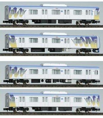 Nゲージ 4044 横浜高速鉄道Y500系 増結用中間車4両 (塗装済完成品)