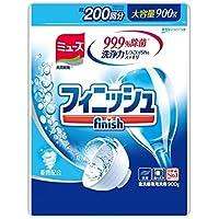 フィニッシュ 食洗機用洗剤 パウダー 詰替 900g (約200回分)