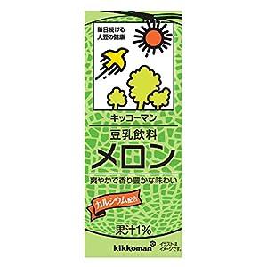キッコーマン飲料 豆乳飲料 メロン 200ml×18本
