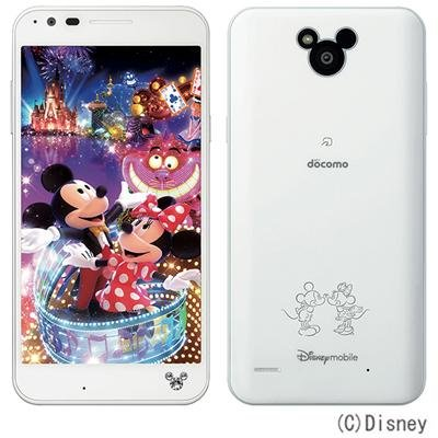 Disney Mobile on docomo DM-02H...